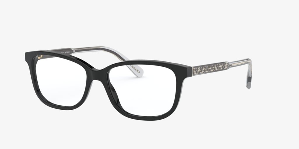 Coach HC6143F Black Eyeglasses