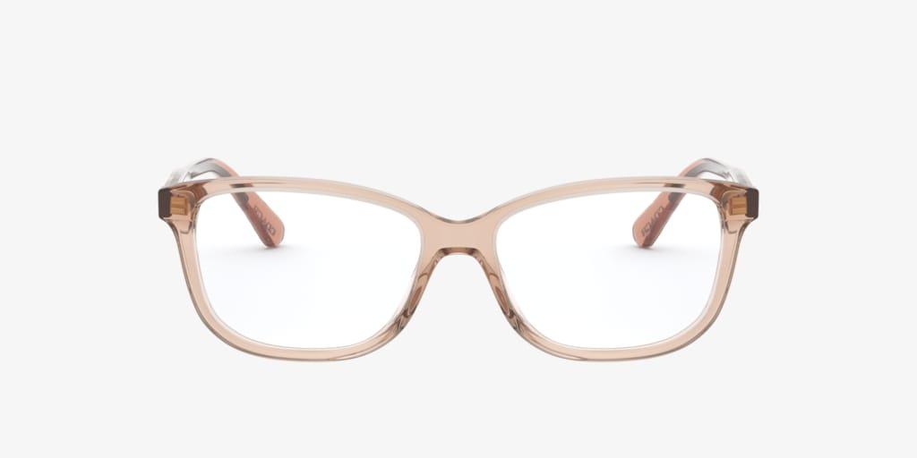 Coach HC6143 Transparent Peach Eyeglasses