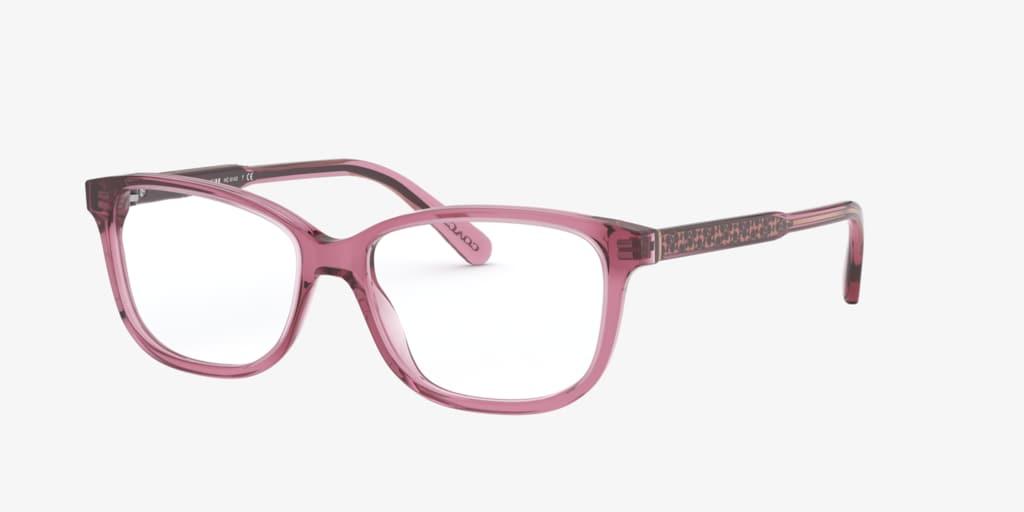 Coach HC6143 Transparent Pink Eyeglasses