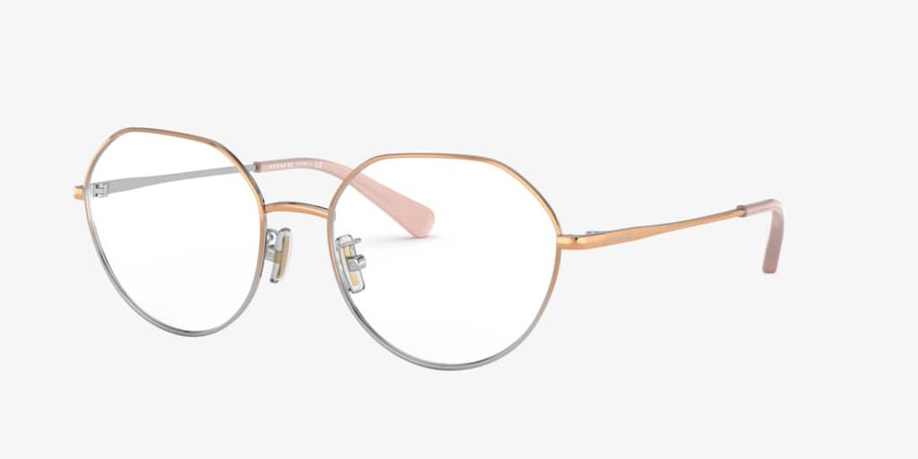Coach HC5106 Rose Gold Silver Gradient Eyeglasses
