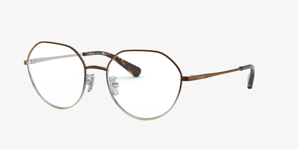 Coach HC5106 Brown Silver Gold Gradient Eyeglasses