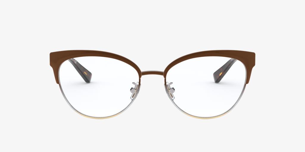 Coach HC5108 Brown Silver Gold Gradient Eyeglasses