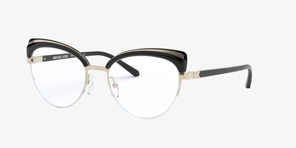 Michael Kors MK3036 NORWAY Light Gold/Black Eyeglasses