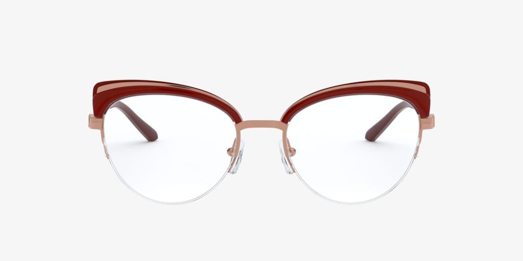 Michael Kors MK3036 NORWAY Rose Gold/Dark Brandy Eyeglasses