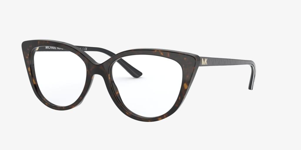 Michael Kors MK4070 LUXEMBURG Dark Tortoise Eyeglasses