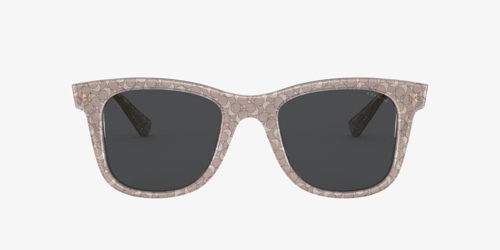 Coach HC8290 50 L1135 Grey Sunglasses