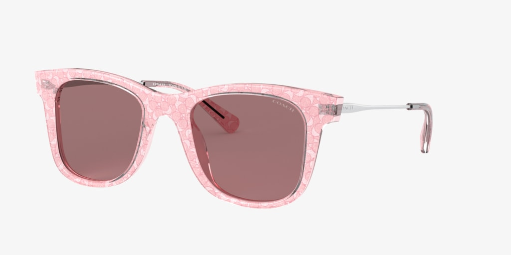 Coach HC8290 50 L1135 Pink Sunglasses