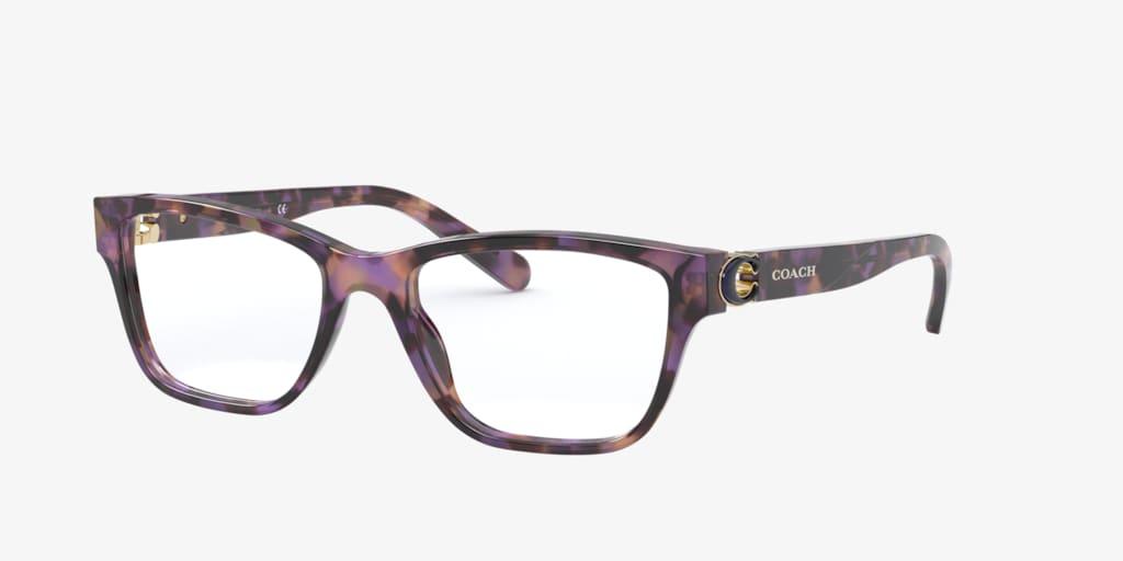 Coach HC6154 Purple Tortoise Eyeglasses