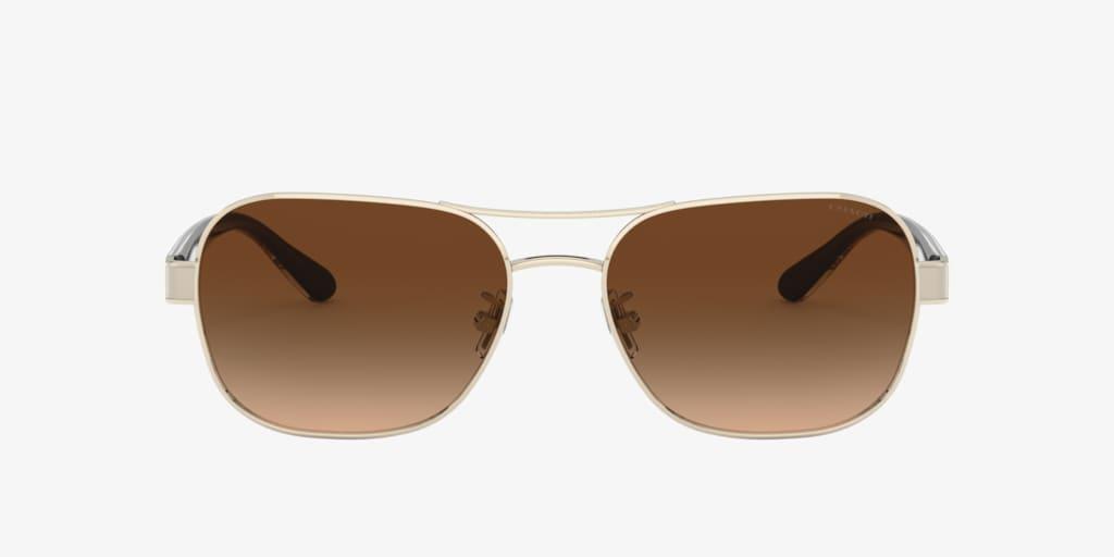 Coach L1151 Light Gold Sunglasses