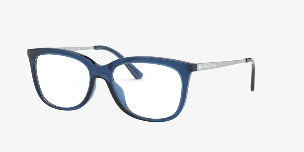 Michael Kors MK4073U SEATTLE Dark Chambray Transparent Eyeglasses