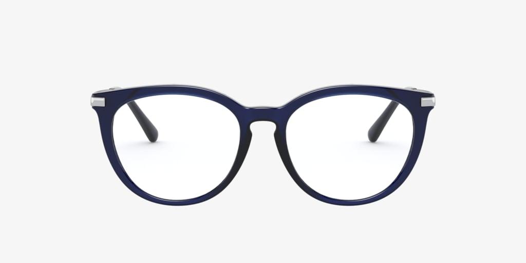 Michael Kors MK4074 QUINTANA Dark Blue Transparent Eyeglasses