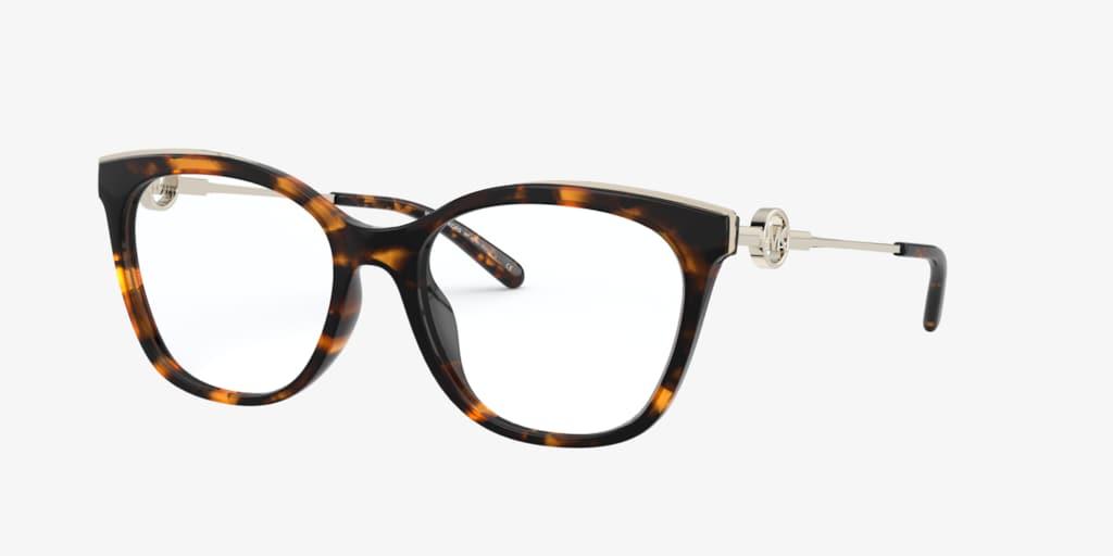 Michael Kors MK4076U ROME Dark Tortoise Eyeglasses