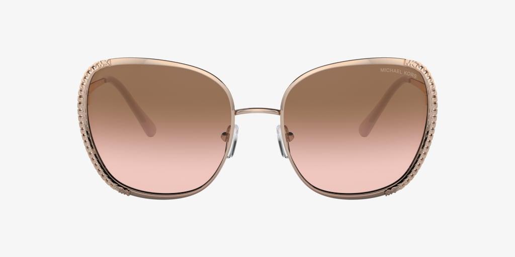 Michael Kors MK1090 59 AMSTERDAM Rose Gold Sunglasses