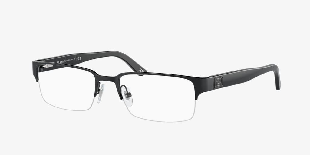 Versace VE1184 Matte Black Eyeglasses
