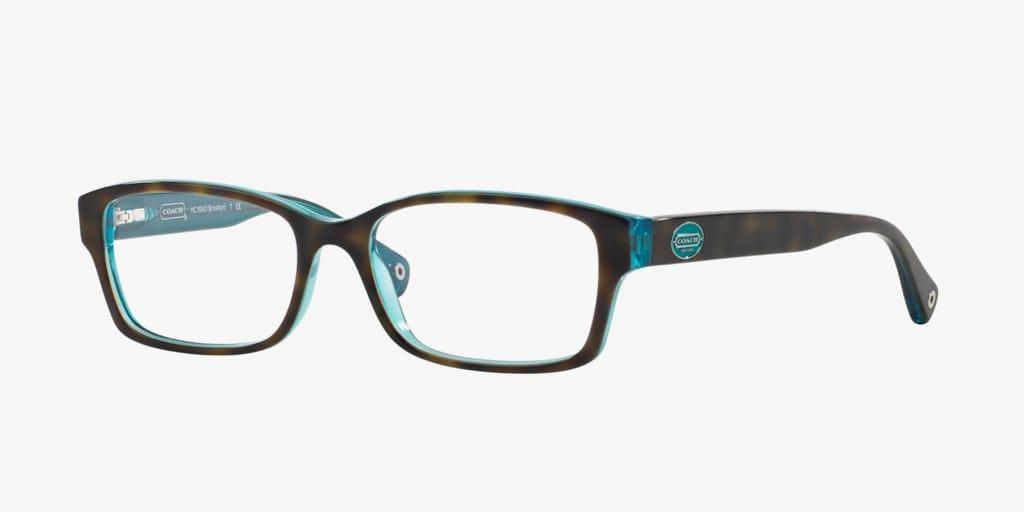 Coach HC6040 Dark Tortoise Eyeglasses