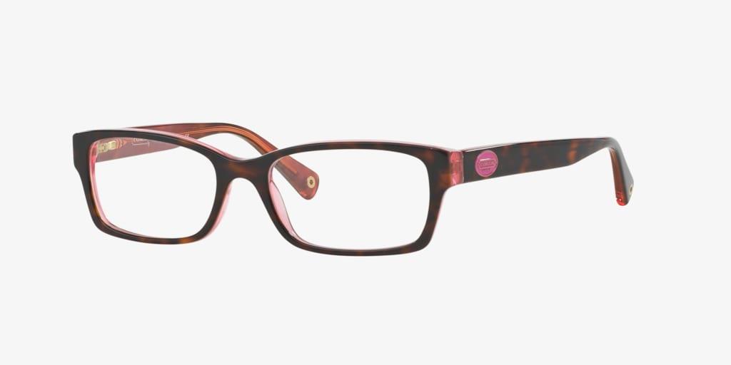 Coach HC6040 Pink Tortoise Eyeglasses