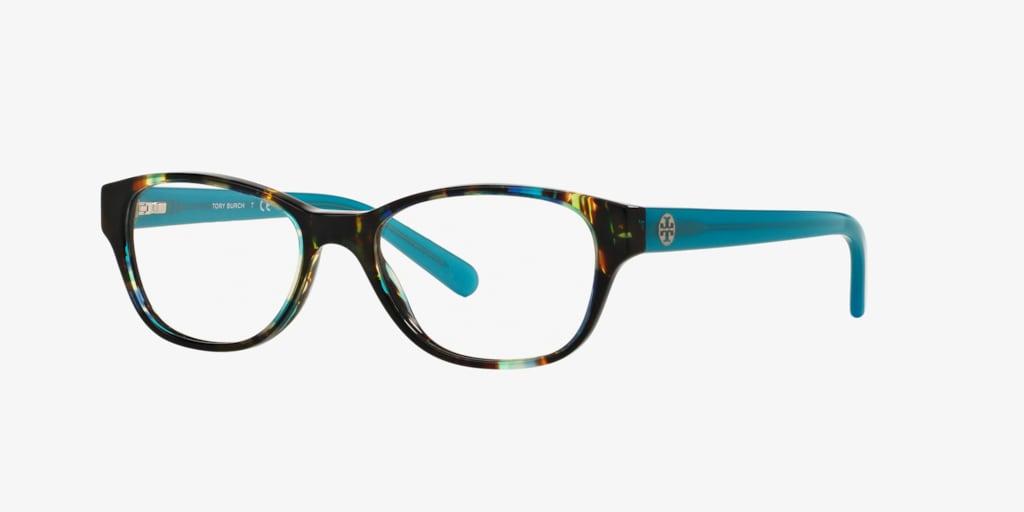 Tory Burch TY2031 Blue Brown Tortoise Eyeglasses