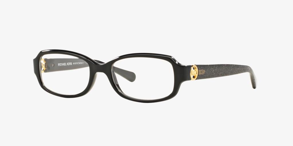 Michael Kors MK8016 TABITHA V Black/Black Glitter Eyeglasses