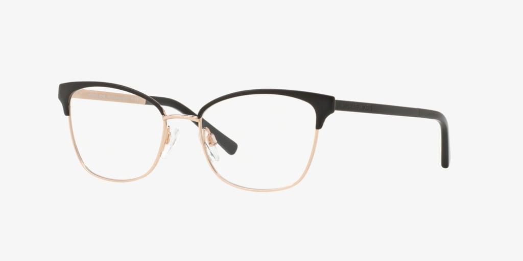 Michael Kors MK3012 ADRIANNA IV Matte Black/Rose Gold Eyeglasses