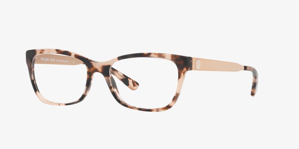 Michael Kors MK4050 MARSEILLES Pink Tortoise Eyeglasses