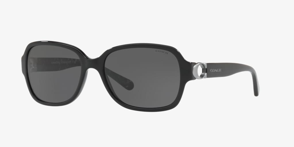 Coach HC8241 57 L1031 Black Sunglasses
