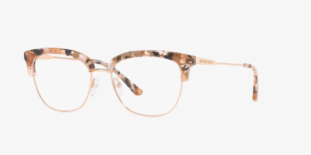 Michael Kors MK3023 GALWAY Pink Tortoise/Rose Gold Eyeglasses