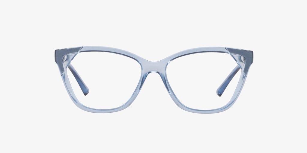 Armani Exchange AX3059 Shiny Light Blue Eyeglasses