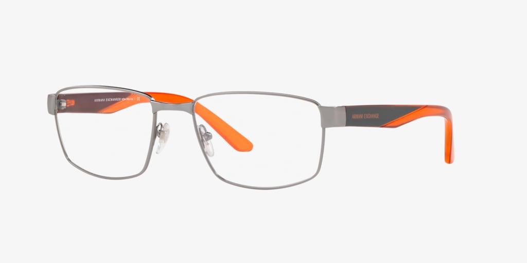 Armani Exchange AX1036 Matte Gunmetal Eyeglasses
