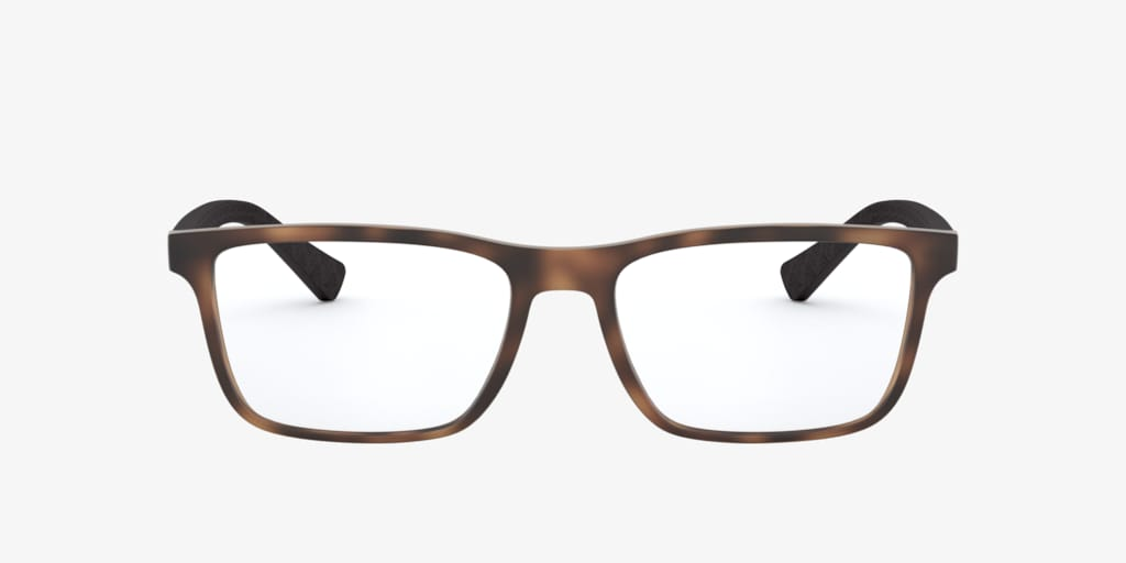 Armani Exchange AX3067 Matte Havana Eyeglasses