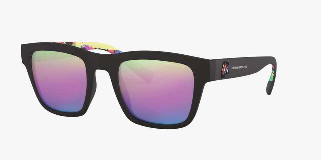Armani Exchange AX4088S 52 Matte Black Sunglasses