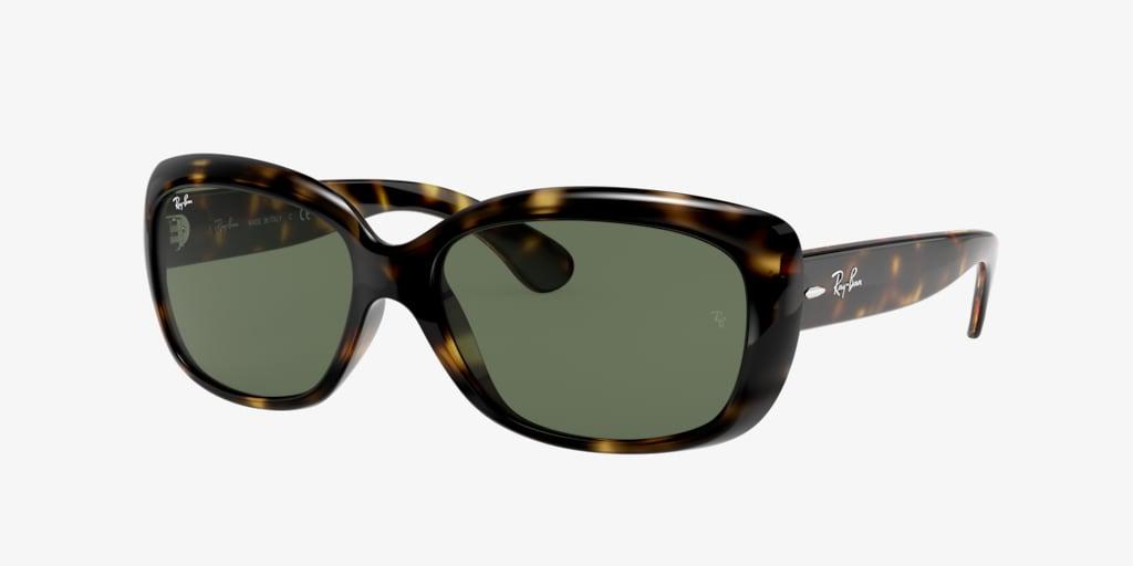 Ray-Ban RB4101 58 JACKIE OHH Tortoise Sunglasses