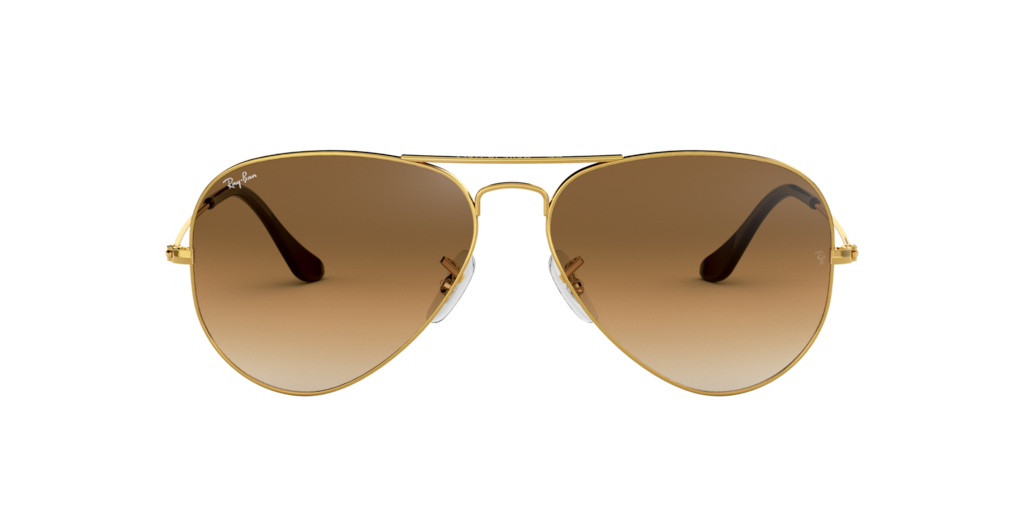 Image for RB3025 55 AVIATOR LARGE METAL from Eyewear: Glasses, Frames, Sunglasses & More at LensCrafters