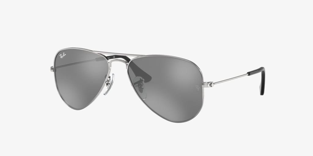 Ray-Ban Jr RJ9506S 50 JUNIOR AVIATOR Silver Sunglasses
