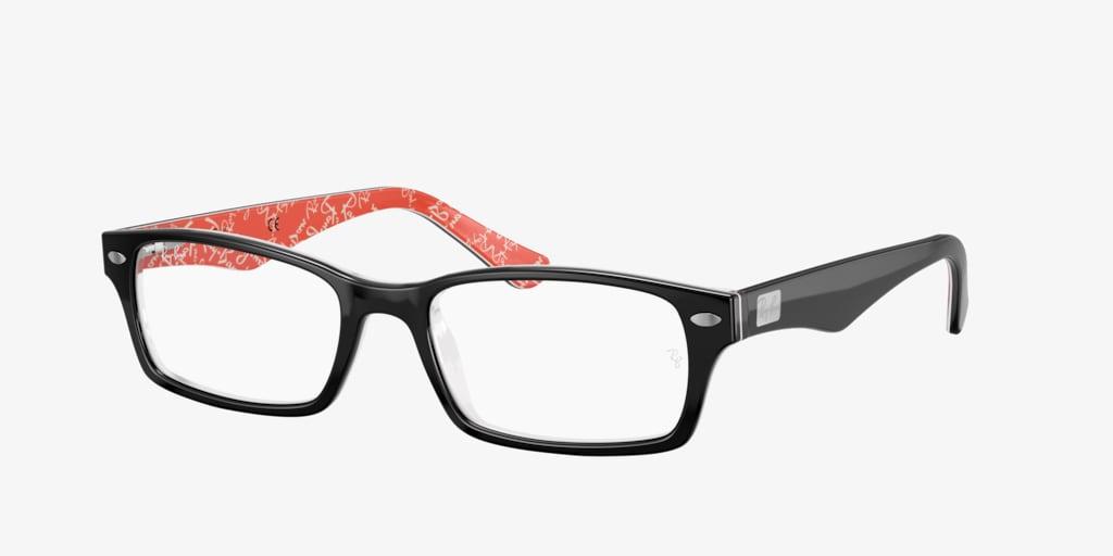 Ray-Ban RX5206 Black Eyeglasses