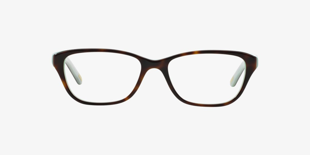 Ralph RA7020 Shiny Havana on Aquamarine Eyeglasses
