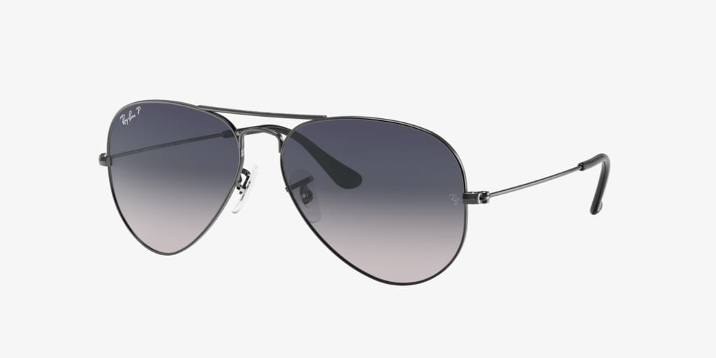 Ray-Ban RB3025 58 ORIGINAL AVIATOR Gunmetal Sunglasses
