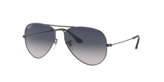 RB3025 55 AVIATOR LARGE METAL $204.00