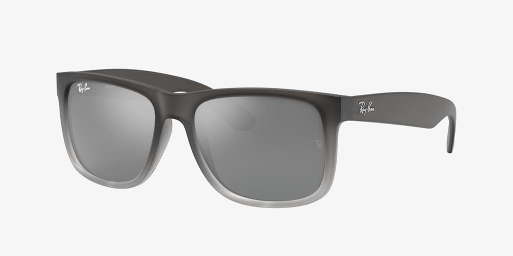 Ray-Ban RB4165 55 JUSTIN Grey Sunglasses