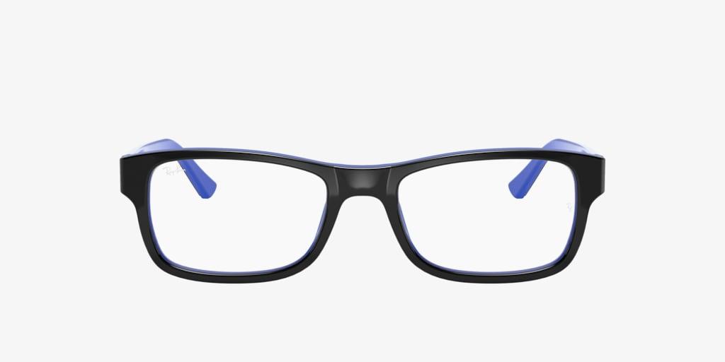 Ray-Ban RX5268 Black On Blue Eyeglasses