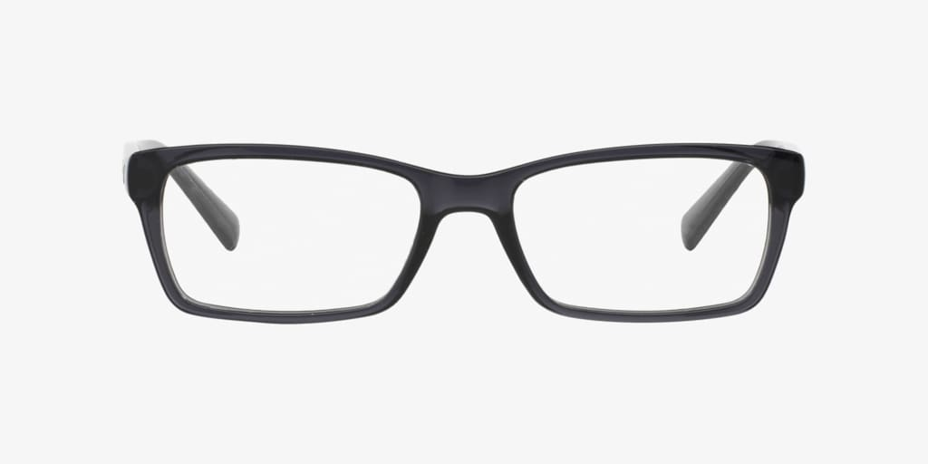 Armani Exchange AX3007 Shiny Transparent Grey Eyeglasses