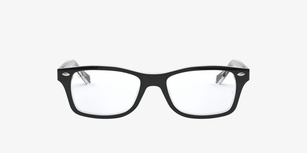 Ray-Ban Jr RY1531 Black on Transparent Eyeglasses