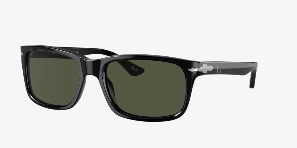 Persol PO3048S 58 Black Sunglasses