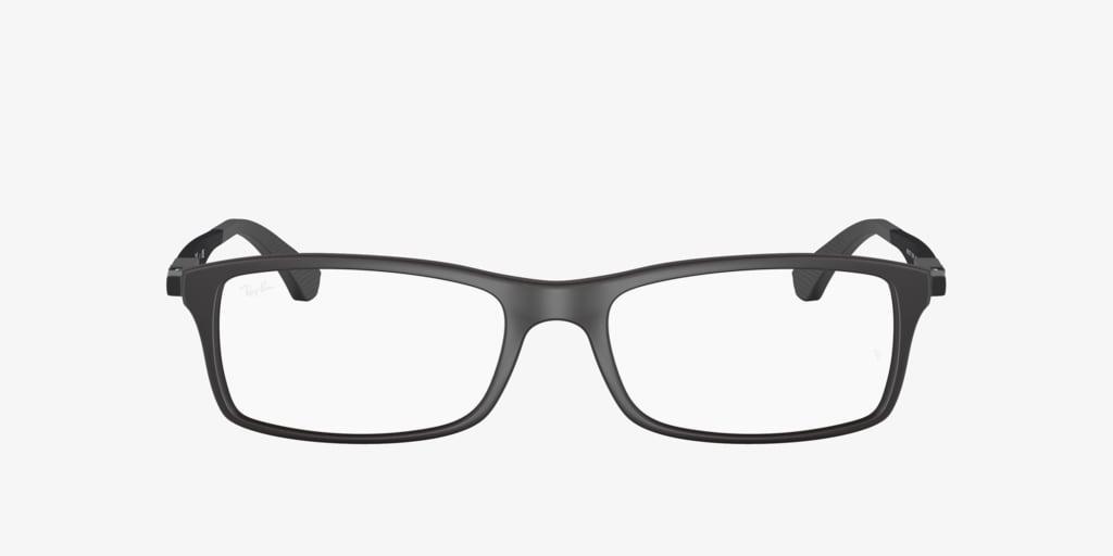 Ray-Ban RX7017 Matte Black Eyeglasses