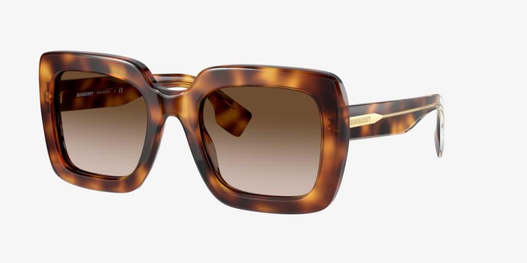 Burberry BE4284 52 Tortoise Sunglasses