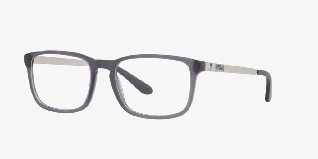 Polo Ralph Lauren PH2202 Matte Transparent Grey Eyeglasses