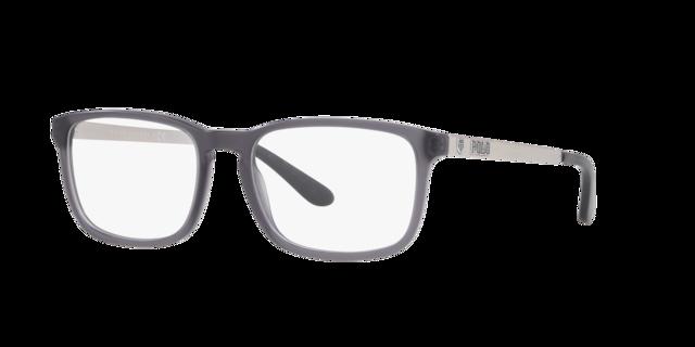 Anguilla caloria Affettuoso  PH2202: Shop Polo Ralph Lauren Silver/Gunmetal/Grey Rectangle Eyeglasses at  LensCrafters