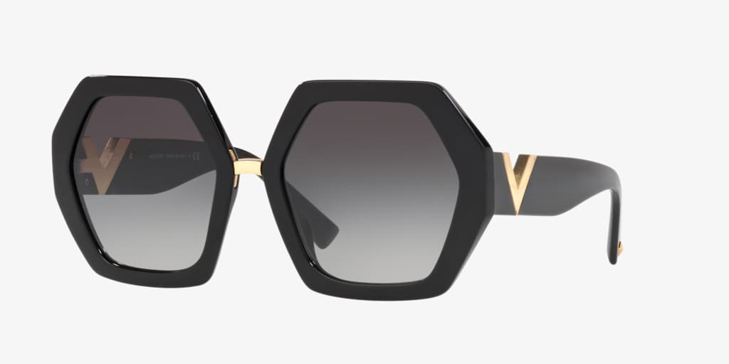 Valentino VA4053 57 Black Sunglasses