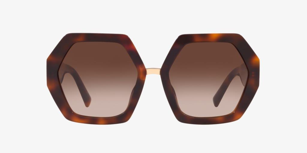 Valentino VA4053 57 Havana Sunglasses