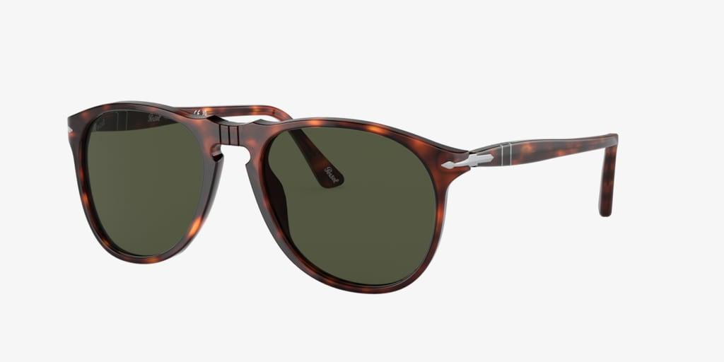 Persol PO9649S (55) Tortoise Sunglasses