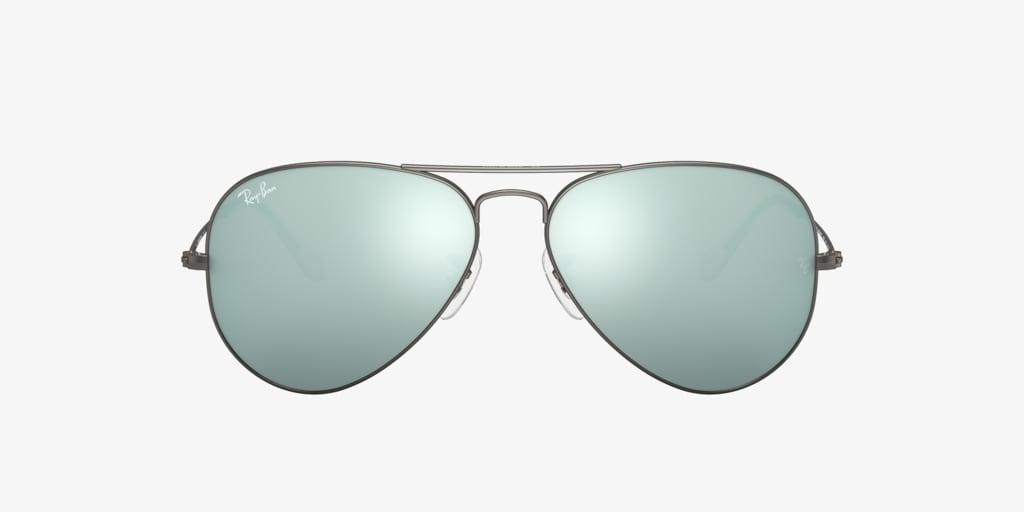 Ray-Ban RB3025 58 ORIGINAL AVIATOR Matte Gunmetal Sunglasses